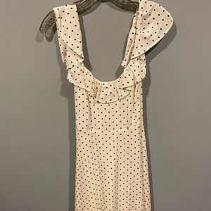 Polka dot dress from Old Navy